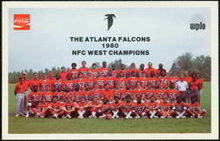 Atlanta Falcons Coke Card