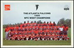 Atlanta Falcons Coke Card