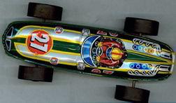 Tin Race Car Japan Toy