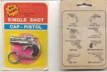 Diecast Cap Gun Keychain in Pack