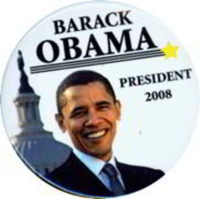 Barak Obama Magnet 2008