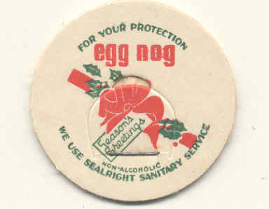 Egg Nog Milk Cap