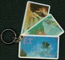 E.T. Keychain Cards Toys