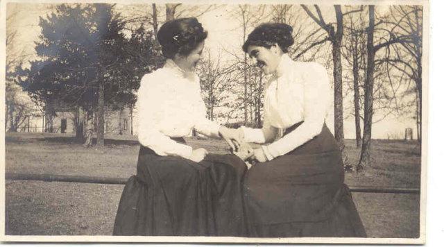Antique Ladies Photo