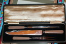 Bakelite Carving Set in Box