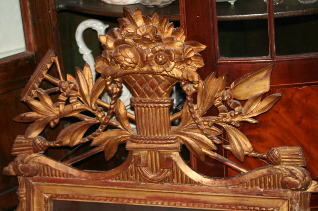 Chippendale Carved Mirror