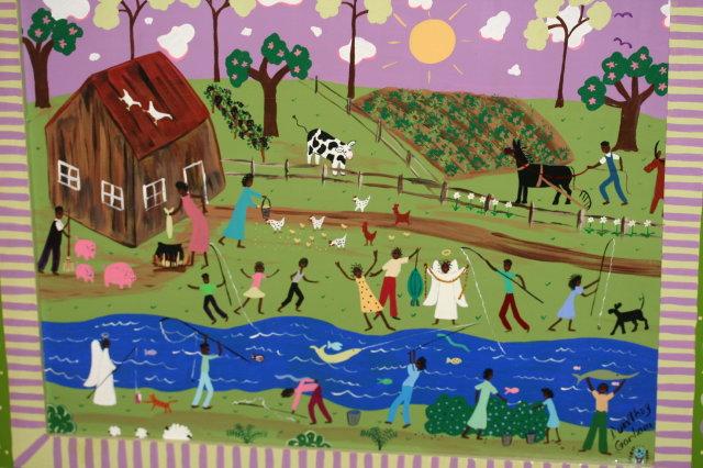 Dorethey Gorham Acrylic Painting