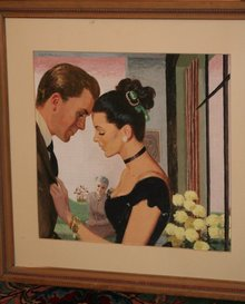 Robert Patterson Illustration Framed