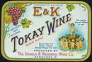Tokay Wine Label