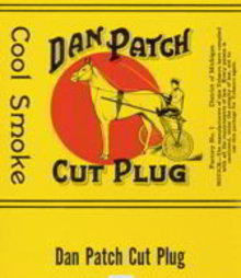 Dan Patch Cigar Label