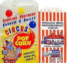 Ringling Brothers Circus Bags