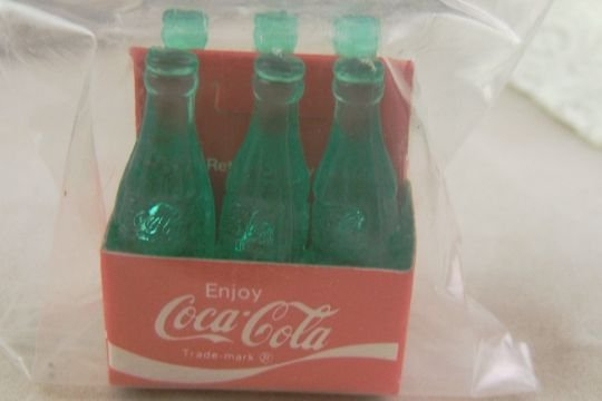 Coca-Cola Mini Toy Truck Bottles