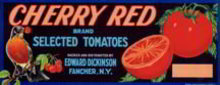 Cherry Tomato Label