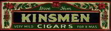 Kinsmen Cigar Poster