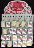 48 Star Keychain Display