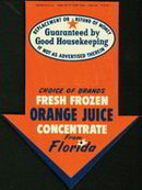 Good Housekeeping Sign Florida Juice