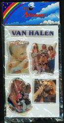Van Halen Stickers 1980s
