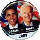 Obama Biden Pinback