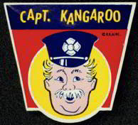 Capt Kangaroo Label