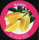 Sunkist Store Spinner SIgn