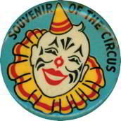 Shrine Circus Clown Pin