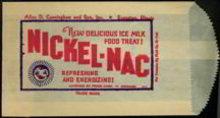 Nickel-Nac Ice Milk Bag