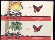Butterfly Peas Succotash Labels