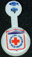 Red Cross Lapel Tab