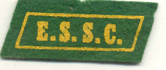 E.S.S.C. Green Felt Patch