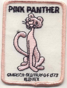 Pink Panther Patch