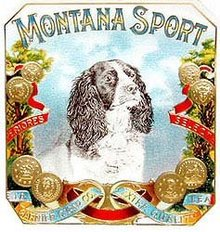 Montana Sport Cigar Label