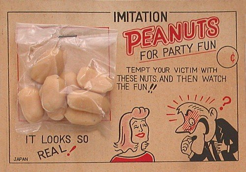 Japan Peanuts Novelty Toy
