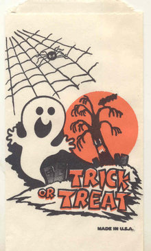 Halloween Ghost Bag