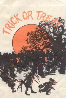 Halloween Graveyard Trick Bag