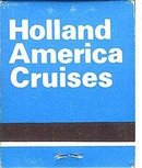 Holland American Cruise Matchbooks