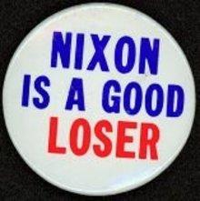 Nixon Loser Pin