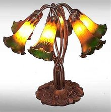Lily Glass Lamp