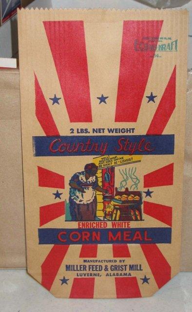 Mammy Corn Meal Bag