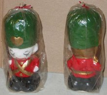 Solider Holiday Candles