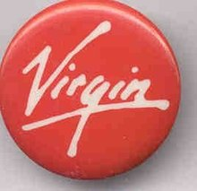 Virgin Records Pin