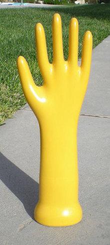 Yellow Mannequin Hand