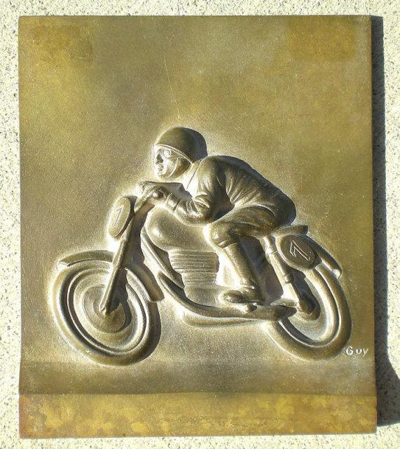 Metal Motorcycle Sign