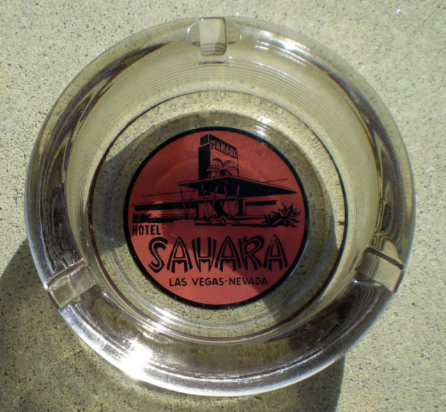 Sahara Hotel Casino Ashtray