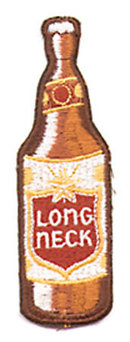 Long Neck Beer Patch