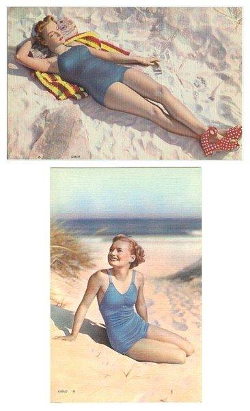 Jumbo Bathing Beauty Postcards