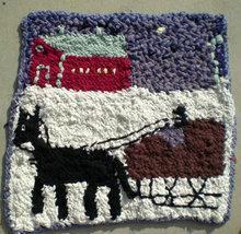 Amish Crochet Rug