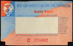 World's Fair Ticket
