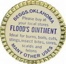 Flood's Ointment Tin