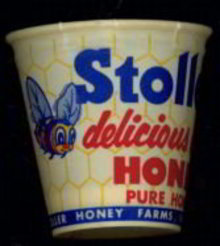 Stoller's Honey Cup Salesman Sample