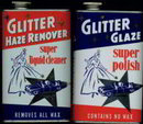 Glitter Automobile Polish Tins 1950s